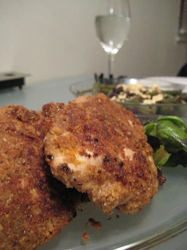 Walnut-Crusted Chicken