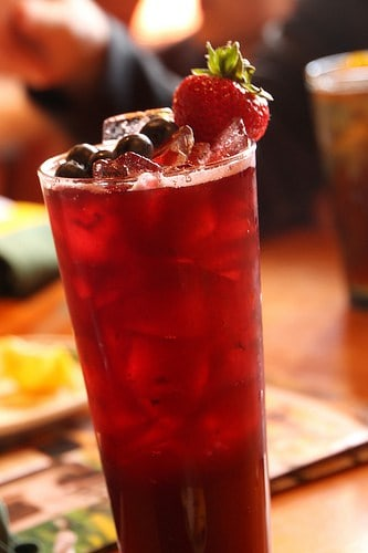 Hibiscus Berry Lemonade