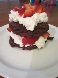 Chocolate-Strawberry Shortcake