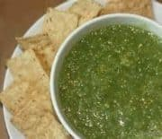 Spicy Tomatillo Salsa