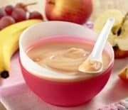 Apple Banana Oats Puree