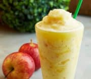 Apple Peanut Butter Oat Smoothie