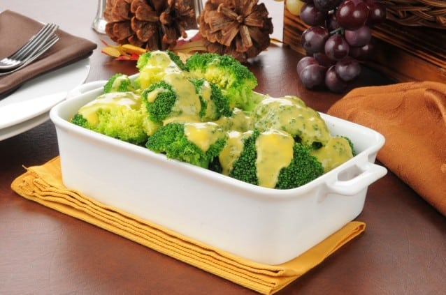 Cheddar Cheese Sauce for Veggies