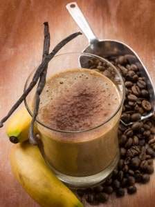 coffee walnut smoothie