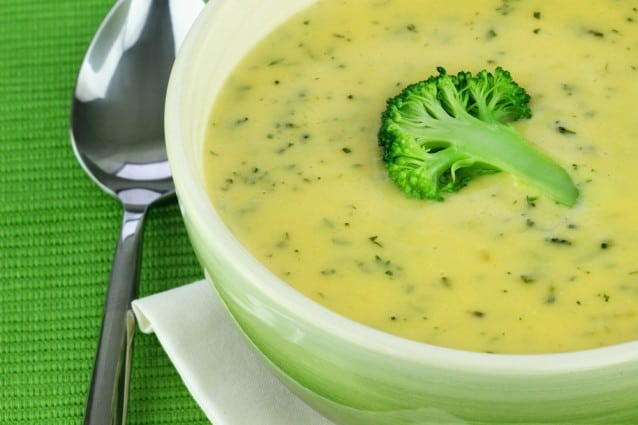 Vitamix Broccoli Soup