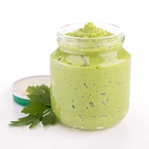 green bean puree