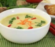 Mango Ginger Coconut Soup