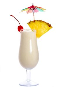 pina colada yogurt smoothie