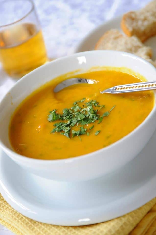 Red Lentil Soup Turkish Style