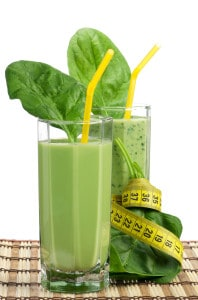 skinny spinach smoothie
